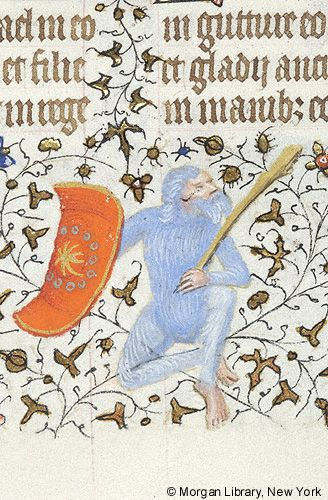 Book of Hours, MS M.1004 fol. 126v - Images from Medieval and Renaissance Manuscripts - The Morgan Library & Museum