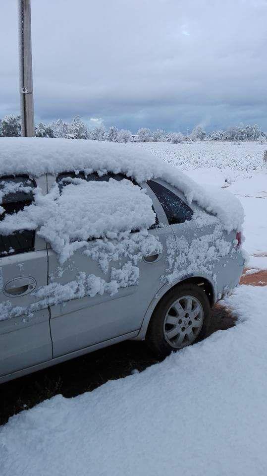 Snow in Jalisco Mexico