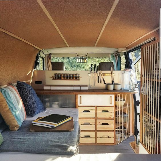 Instagram: @radius_ulna - Blog: www.radius-ulna.com - Warm and cosy DIY campervan.