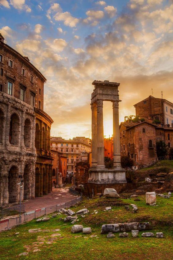 Foro Romano, Roma, Italia