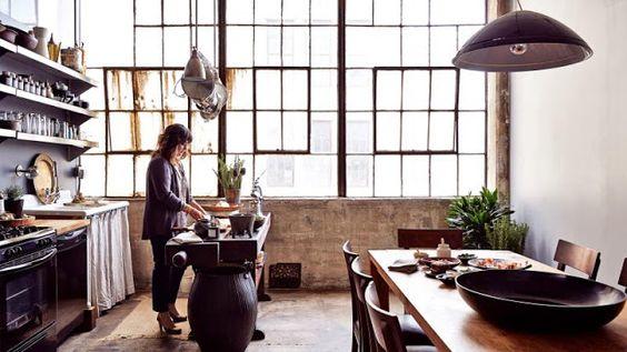 Loft en Brooklyn, con cierto toque femenino | Etxekodeco