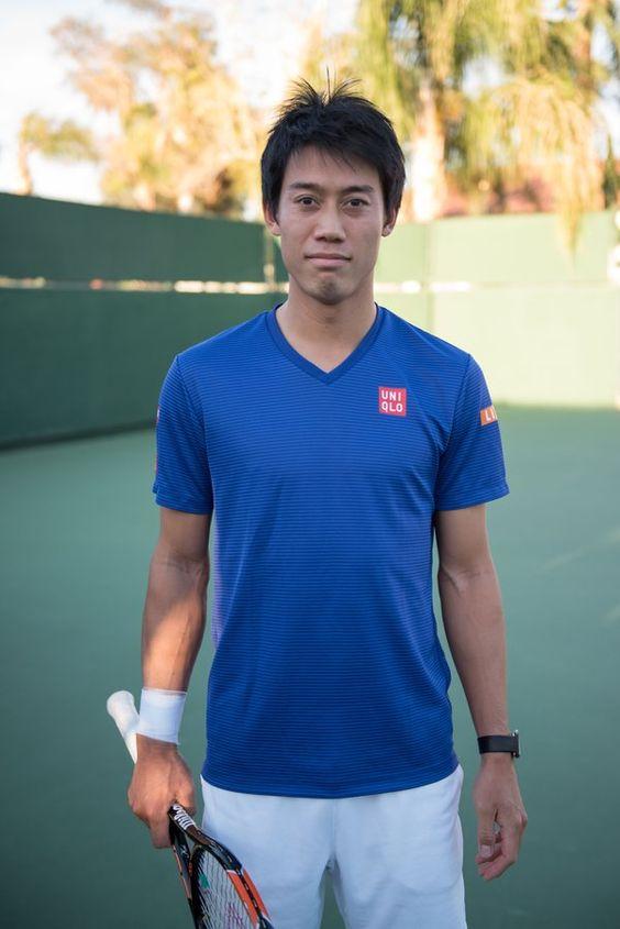 Kei Nishikori : photo by Alex Huggan