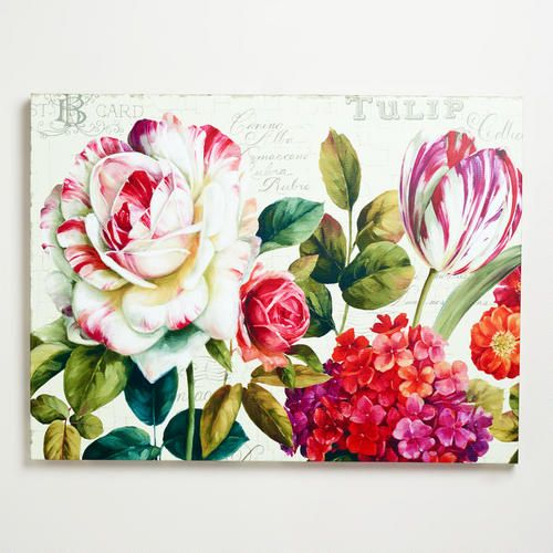 'Garden View' by Lisa Audit at Cost Plus World Market >> #WorldMarket Artistic Inspiration