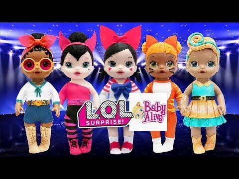 Play Doh Costumes L O L Surprise Doll Baby Alive Luxe Fanime Spice Baby Cat Foxy Youtube Play Doh Costume Baby Alive Play Doh