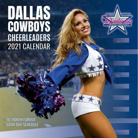 Dallas Cowboys Cheerleaders 2021 Sideline Calendar. Gear up for