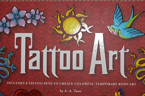 Tattoo Art - Temporary Body Art Kit *** See this great product.