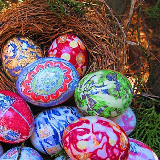 Ediva.gr » Όλα για την γυναίκα | Μόδα, Ομορφιά, Ζώδια, Συνταγές |Βάψιμο αυγών με γραβάτες...-Δες πως θα το κάνεις βήμα-βήμα - Ediva.gr