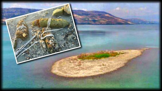 WHAT JUST APPEARED IN THE SEA OF GALILEE HAS DOOMSAYERS PREPARING FOR TH...