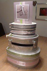 My self made wedding cards box