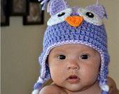 Crochet Owl Halloween Tutu & Hat Baby Girl Photo Prop Custom made Costume. $60.00, via Etsy.