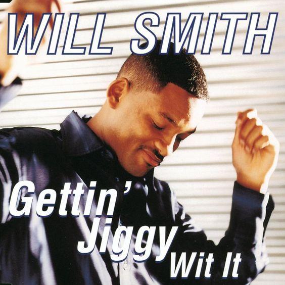 Will Smith – Gettin' Jiggy wit It (single cover art)