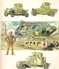 dibujo de tanques de guerra