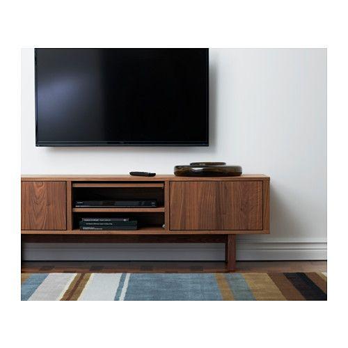 stockholm tv bank nussbaumfurnier asche gastzimmer und pelz. Black Bedroom Furniture Sets. Home Design Ideas