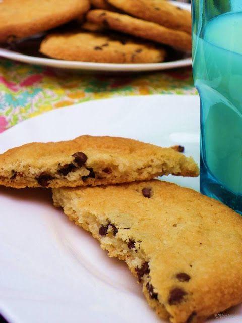 Cocina amiga: Chocolate Chips Cookies - sin leche, sin huevo, sin frutos secos, sin soja