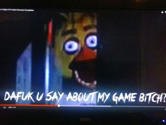250  followers ._. Well i dont know what to do so heres a sexy picture of chica. Video is a montage by yamimash ;)