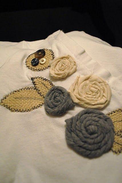 DIY embellished shirt :)