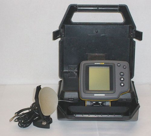 humminbird wide 128 portable high performance fish finder, Fish Finder