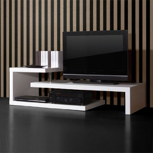 Buy One Of These Modern White High Gloss Multi Purpose Tv