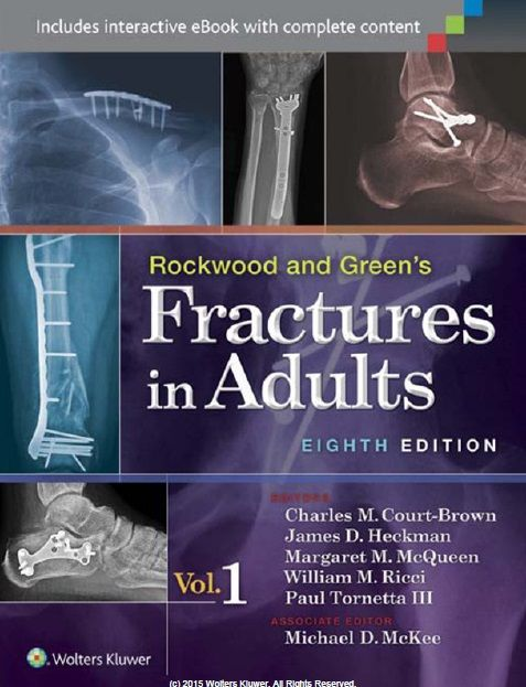 Rockwood And Green S Fractures In Adults 8th Edition 2 Volume Set Pdf Free Download Direct Link Bone And Joint Medicine Book Rockwood