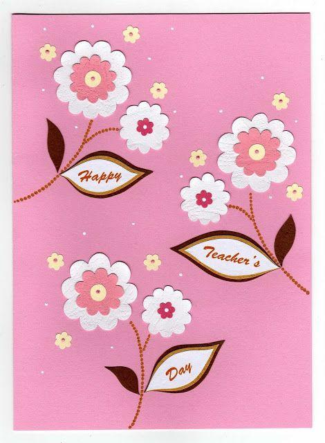lin handmade greetings card teachers day cards azlina