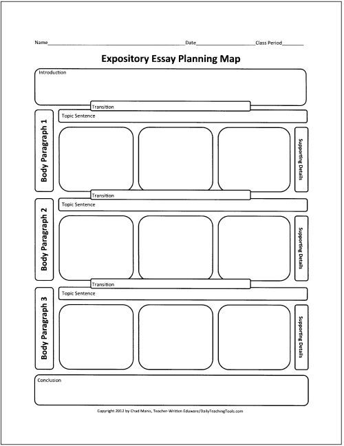 Expository Organizer Another Graphic Correct Mapping Journal Piece Laying Prom Writing Free Essay