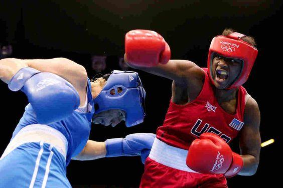 Black female boxer, Claressa Shields, wins gold at 2012 Olympics