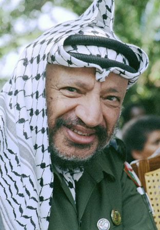 Yasser Arafat   Palestinian leader   Britannica.com