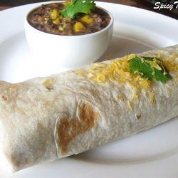 Simple Bean Burrito