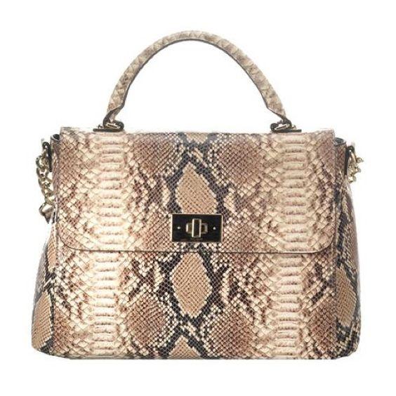Kate Spade Carlyle Nadine Snake Print Handbag Reduced Only Used 2