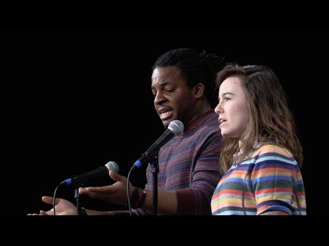 A black man and a white woman switch mics, and the result is amazing.   This legit gave me chills. Awesome.