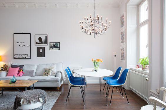 Interieur inspiratie uit Zweden. Voor meer interieur en wonen kijk ook eens op http://www.wonenonline.nl/