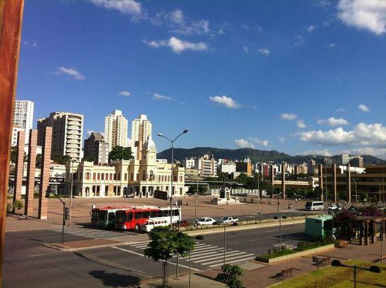 Praça da Estação. Vista do CentoeQuatro, que abrigará o @TEDxBeloHorizonte.