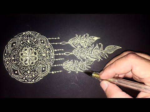 Arabic Calligraphy Dream Catcher By Sami Gharbi Youtube Dream Catcher Arabic Calligraphy Rollerball Pen