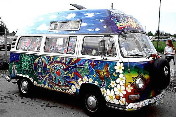 psychedelic van i want one pinterest buses art and psychedelic. Black Bedroom Furniture Sets. Home Design Ideas