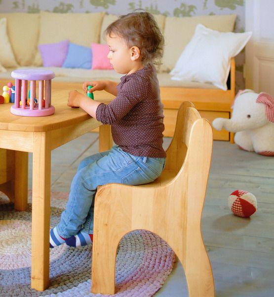 Spar-Set: Levin Kindertisch mit 2 Stühlen von bio-kinder – der Erlenholzspezialist! auf DaWanda.com