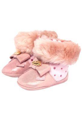 Bota Lilica Ripilica Baby Tachinhas Infantil Rosa