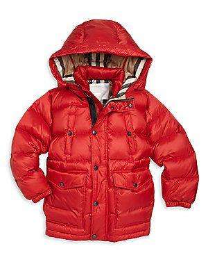 Burberry Little Boy's & Boy's Barnie Down Puffer Jacket