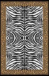 Zebra Cheetah College Dorm Room Rug College Deco - Super cute! :)