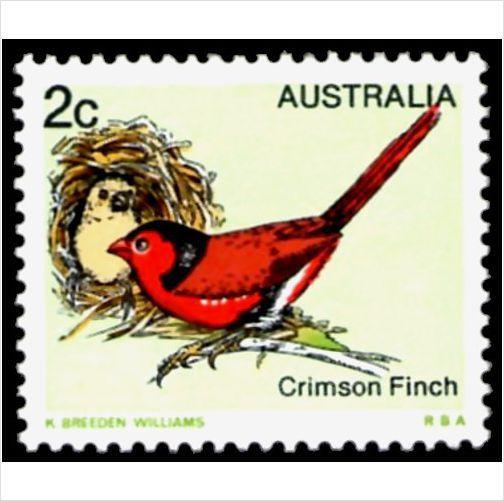 Australia 1979 2c Crimson Finch MNH - AU692m on eBid Australia