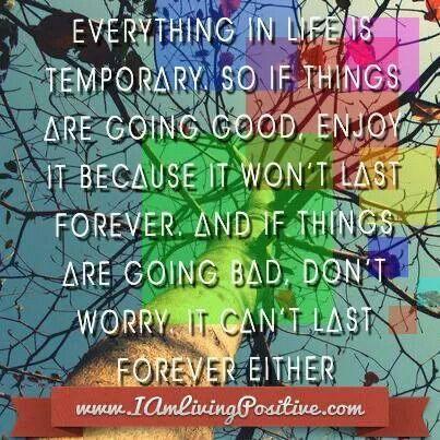 Life philosophy...