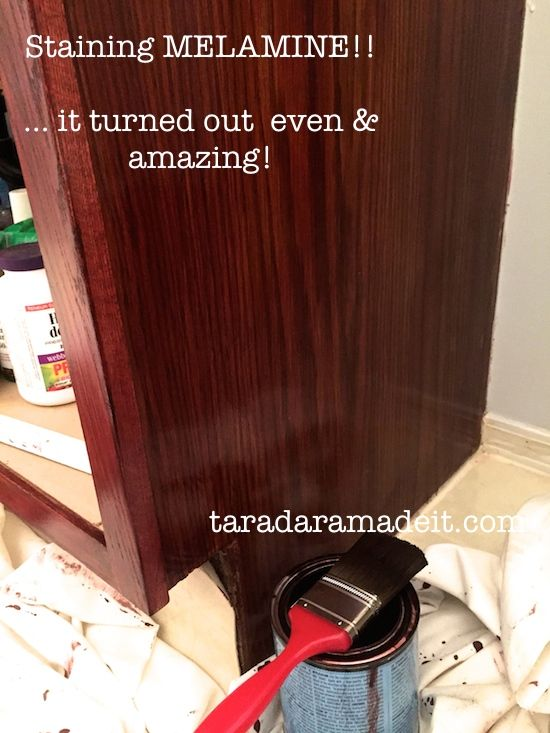 how to get stains out of melamine