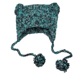 Hand Knit Cat-Eared Beanie DT626