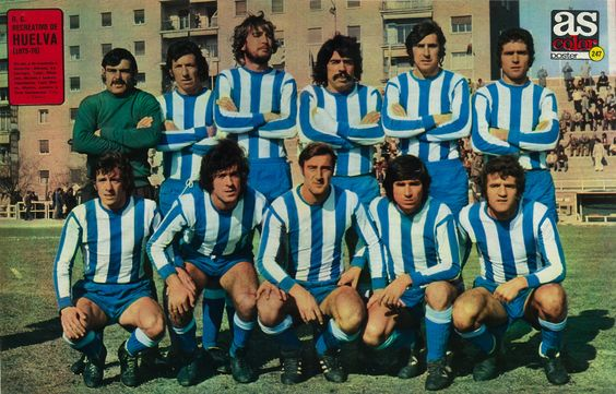 247 Real Club Recreativo De Huelva 75 76 Football Kits Football Team Retro Football