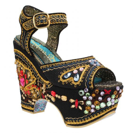 Bling Sai Irregular Choice Shoe
