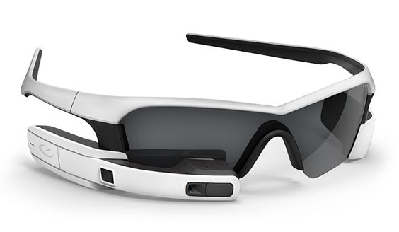 Recon Jet - According to certain sources, the Recon Jet is the most advanced wearable computing solution in the world. These polarized sport shades feature a built-in microcomputer that delivers data straight into your eyeball through its integrated, heads-up display.   Werd