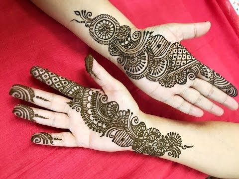 Learn Stylish Arabic Henna Mehndi In 10 Minutes How To