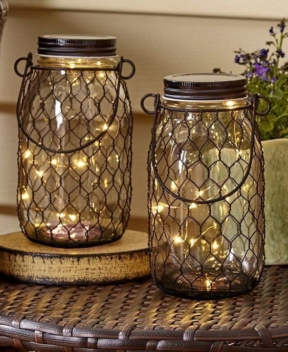 Fairy Light Jars Best Fairy Light Decoration Ideas Fairy Lights In A Jar Jar Lights Fairy Lights Decor