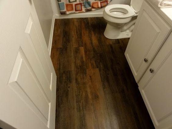 vinyl peel and stick flooring that looks like real wood. Awesome. Style  Selections 6
