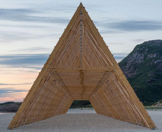 """Salt: Fish rack"", Rintala Eggertsson"