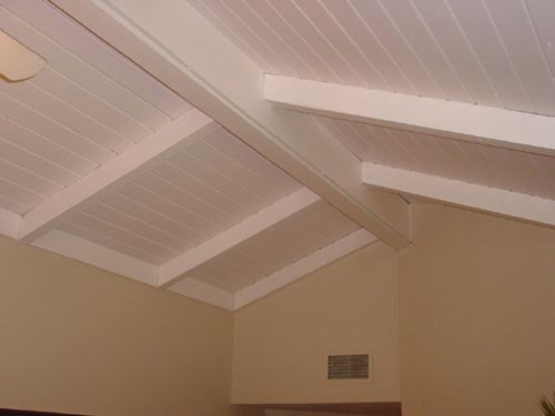 Ceiling Beams Ideas Look Close Picture Below Has A